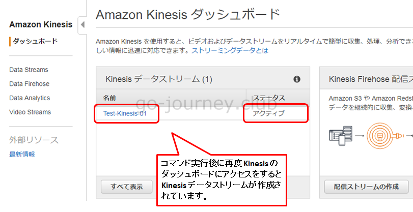 【AWS】Amazon Kinesis(Kinesis Data Streams)について解説