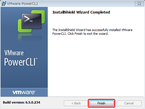 VMware PowerCLI 6.5 Release 1 のインストール手順