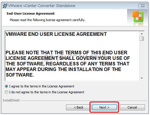 【VMware vCenter Converter Standalone】oVirt or RHEV 環境から仮想マシンを VMware 6.5 へ移行する手順