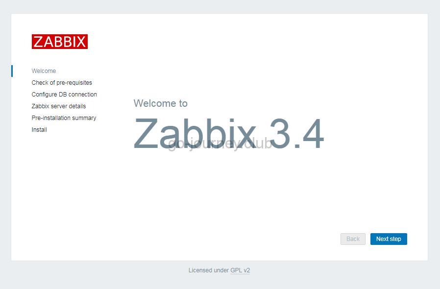 【Zabbix 3.4】CentOS 7 への Zabbix インストール手順