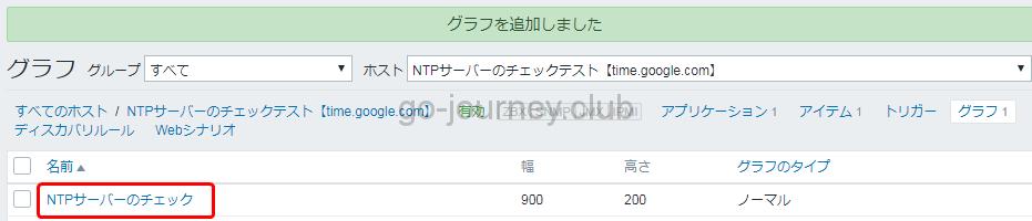 NTPサーバーのチェックテスト【time.google.com】: NTPサーバーのチェック