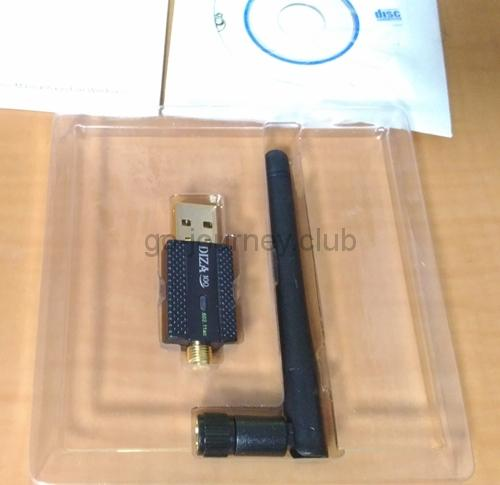 DIZA100 WIFI 無線LAN子機 が安い割には高速だった【Linuxにも対応】