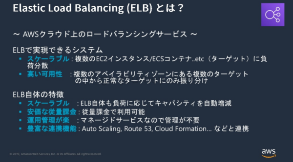 ELB の特徴