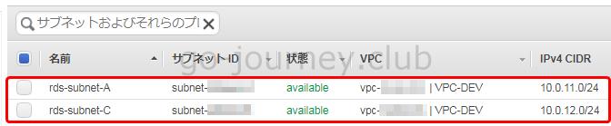 【AWS】RDS(Amazon Relational Database Service)の構築手順
