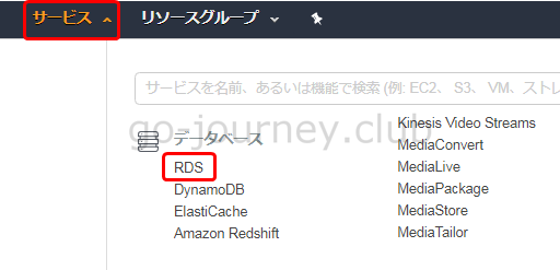 【AWS】RDS(Amazon Relational Database Service)の構築手順