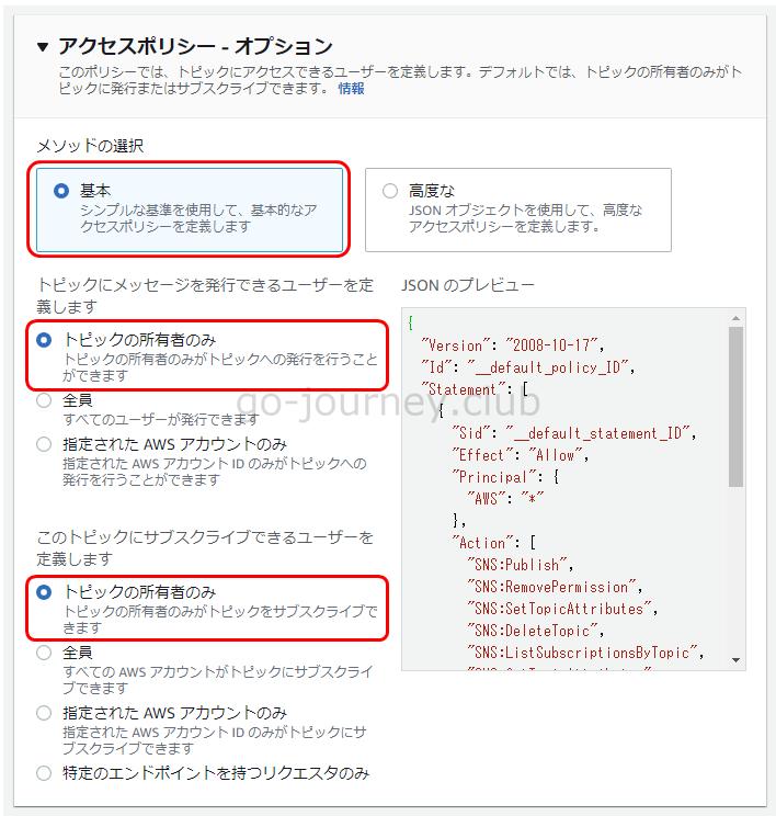 【AWS】SNS(Simple Notification Service)でメールを送信する設定手順